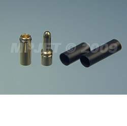 MPJet 21031 konektory gold 3,5mm 3ks
