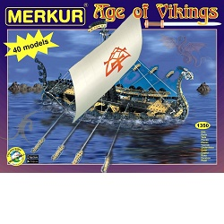 Merkur Age of Vikings Stavebnice