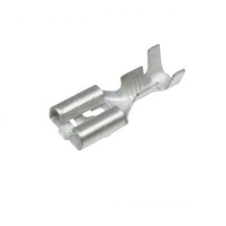 Faston na kabel FZK 6,3 x 0,8 mm cínovaný