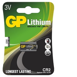 GP CR2 1ks Baterie Lithiová 3V 850mAh