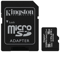 Kingston SDCS2/16GB paměťová karta Canvas Select