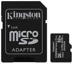 Kingston Canvas Select Plus 32GB Paměťová karta