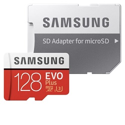 Samsung EVO Plus Micro SDXC 128GB MB-MC128HA/EU