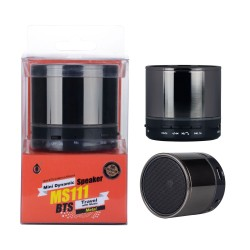 Aligator MS111 black Mini Speaker s LED