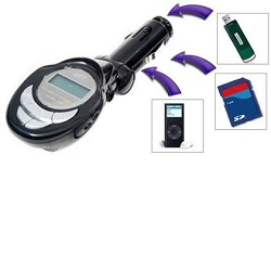 Hutermann CMP3-8 MP3 - FM transmitter do auta